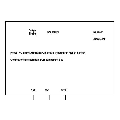 HC-SR501 Adjust IR Pyroelectric Infrared PIR Motion Sensor Detector Module