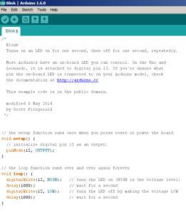Blink Code