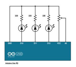 Arduino Potentiometer Example