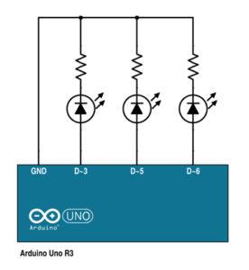 Arduino LED RGB