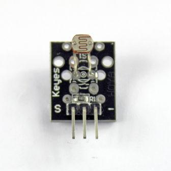 Photosensitive resistor sensor module