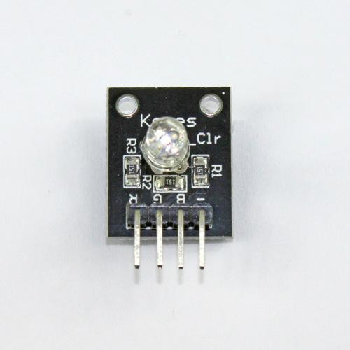 Three color RGB sensor modules